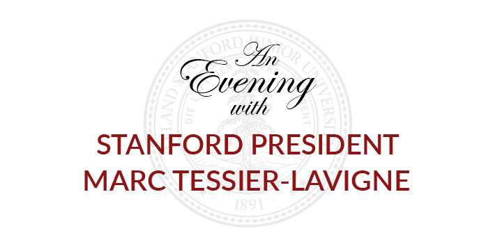 An Evening with Stanford President Marc Tessier-Lavigne