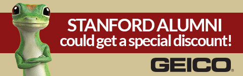 Stanford alumni could get a specail Geico discount