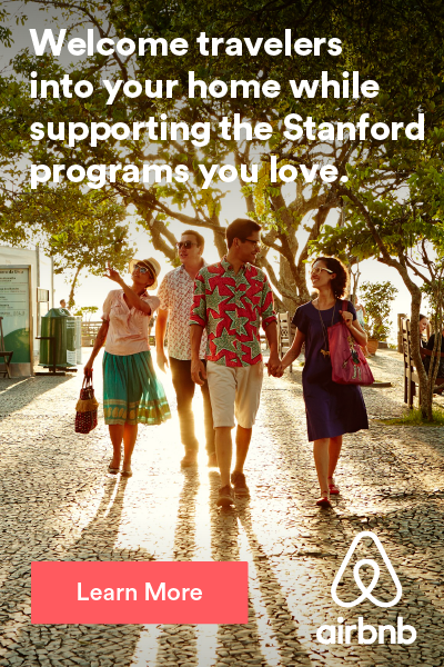 Welcome travelers into your home while supporting the Stanford programs you love. Learn more