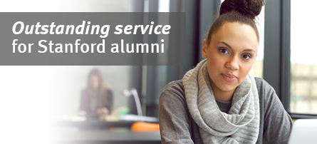 Oustanding Service for Stanford alumni