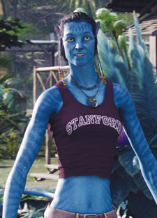 Stanford In Popular Culture - The Avatar Wore Cardinal - However you want to portray Stanford in popular culture, you're supposed to ask   the University's permission first, says Lisa Lapin, assistant vice president for ...