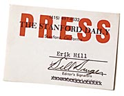 Daily press card