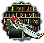 library asleep icon