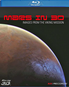 Mars in 3D cover